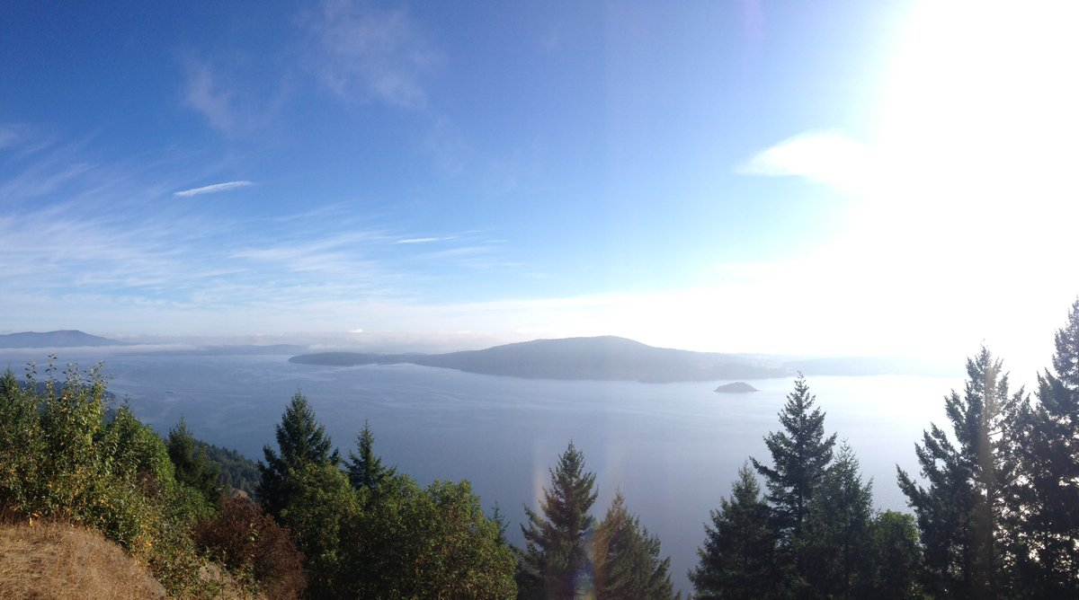 Viewpoint on the Malahat. #everyonebelongsinnature #ToughMappers @TELU...