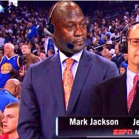 Why yall do Mark Jackson like this??? 😭 https://t.co/840UzswUSe
