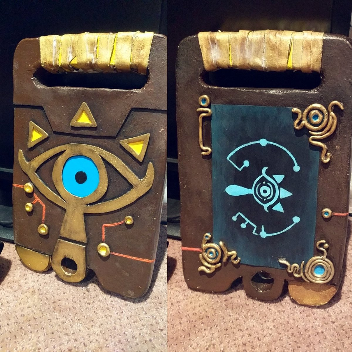 Got my sheikah slate ready to go for #an2017 !! #BOTW #botwcosplay #loz <br>http://pic.twitter.com/2031Fv6bS9