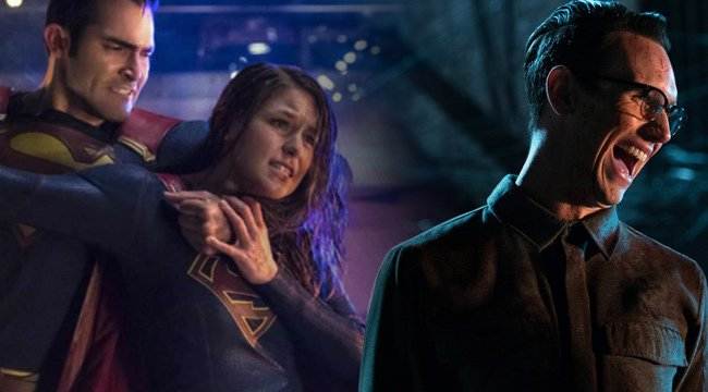 #Gotham heats up while #Supergirl wraps on this week's geeky TV https:...