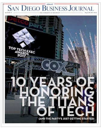 Make sure you tune into this week's special supplement covering all the goodies from the @TopTechExecs ! @coxbusiness hosted a great event!
