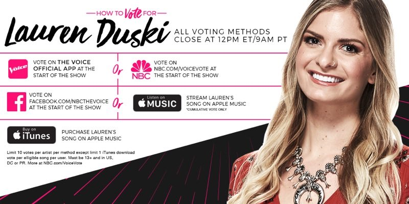Vote like hell y'all!! 🤘🏻https://t.co/SN3p63d5JH #VoiceFinale https://...