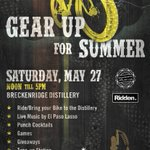 Join us #saturday for #NationalBikeMonth! Live Music / Food / Games / Giveaways / Free Tuning! #Bikes #Breckenridge #WeekendPlans