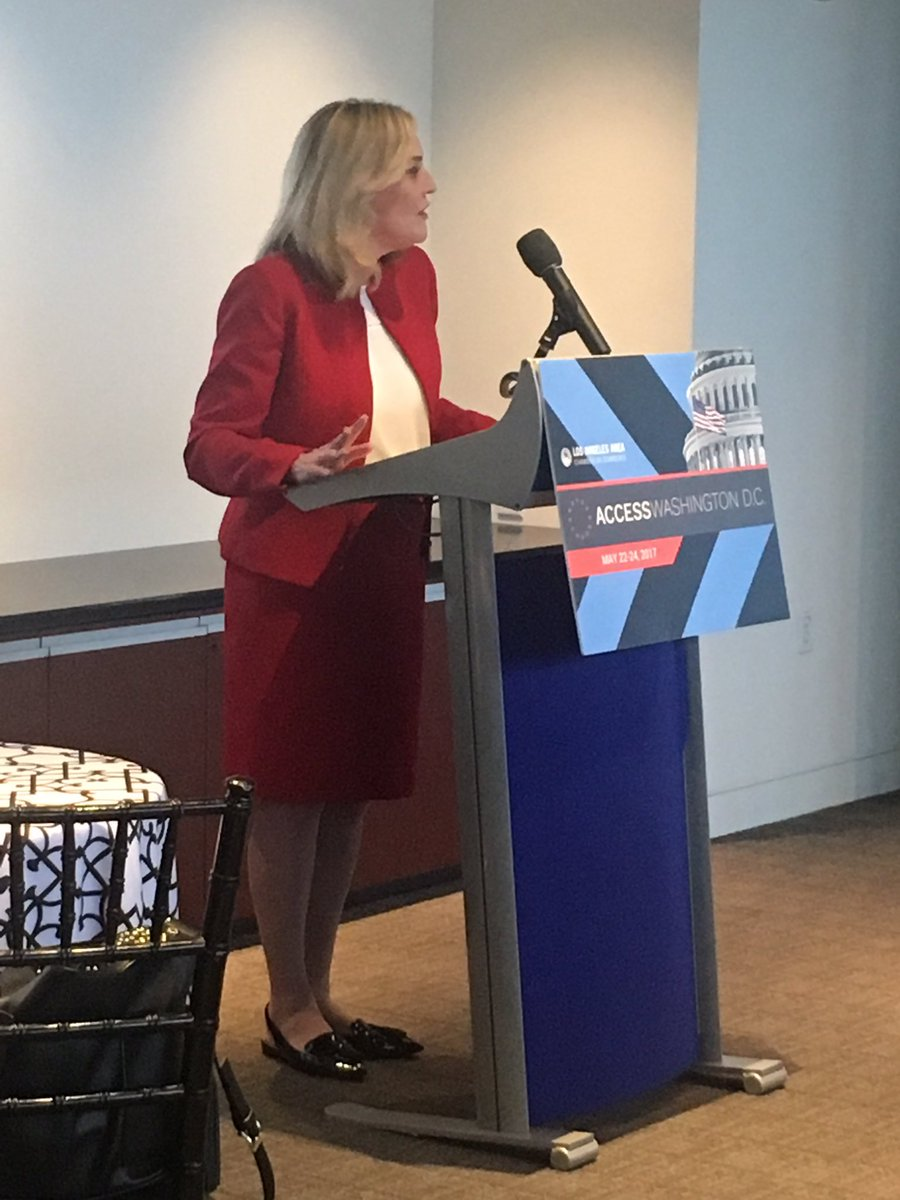 """""""If you really take the time to get to know your opponents, it's amazing how much you can learn."""" - LA County Sup @kathrynbarger at #ADC2017"""