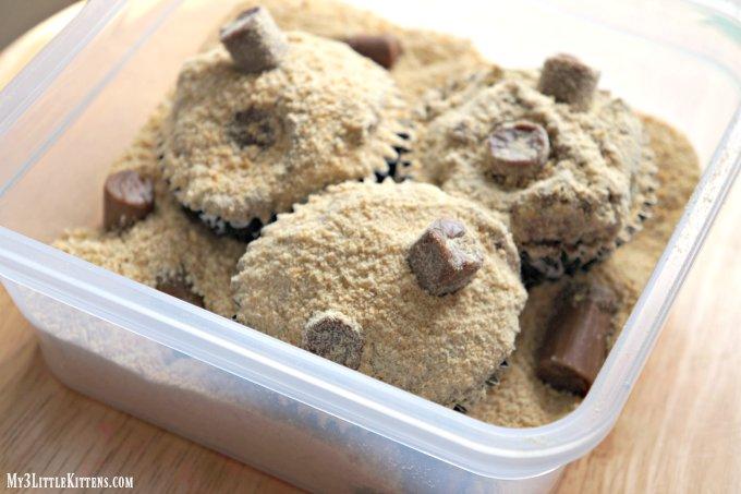 Cat Litter Cupcakes
