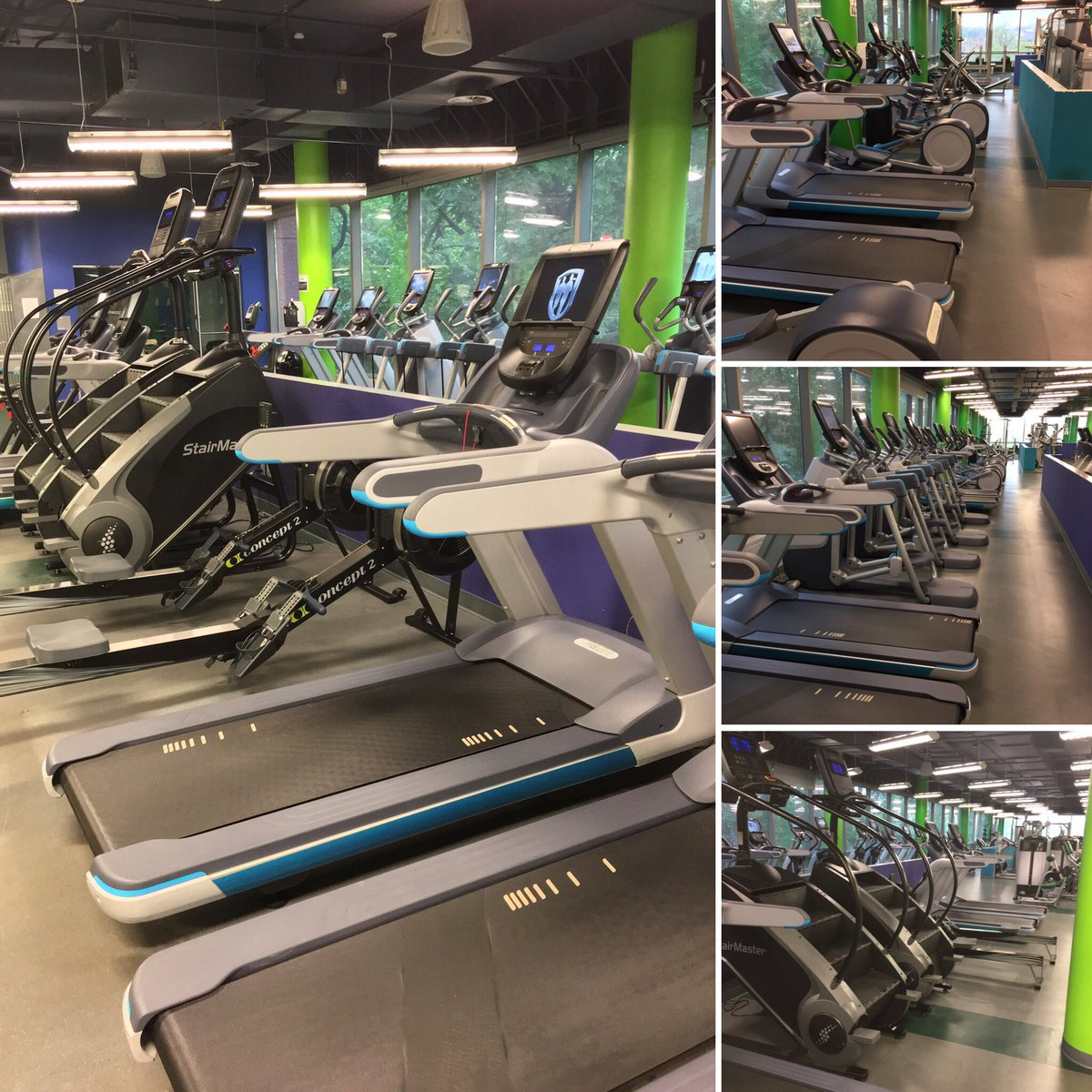 The new cardio equipment is already in place #Jaspers . Come in tomorrow and try it out. #fitness #cardio #health #heart<br>http://pic.twitter.com/i8ZWa1QHRY