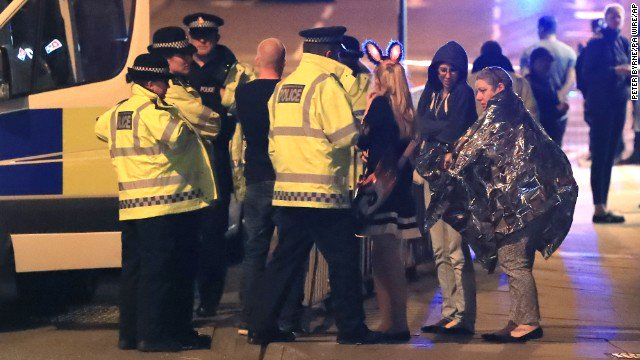 Police say 19 are dead and about 50 injured in incident at Ariana Grande concert in England. https://t.co/2SoQXZLMSO