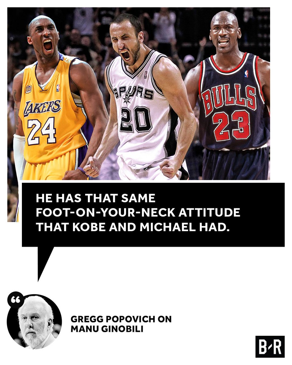 Pop puts Manu in a league of legends. https://t.co/ggwQMvY8kr