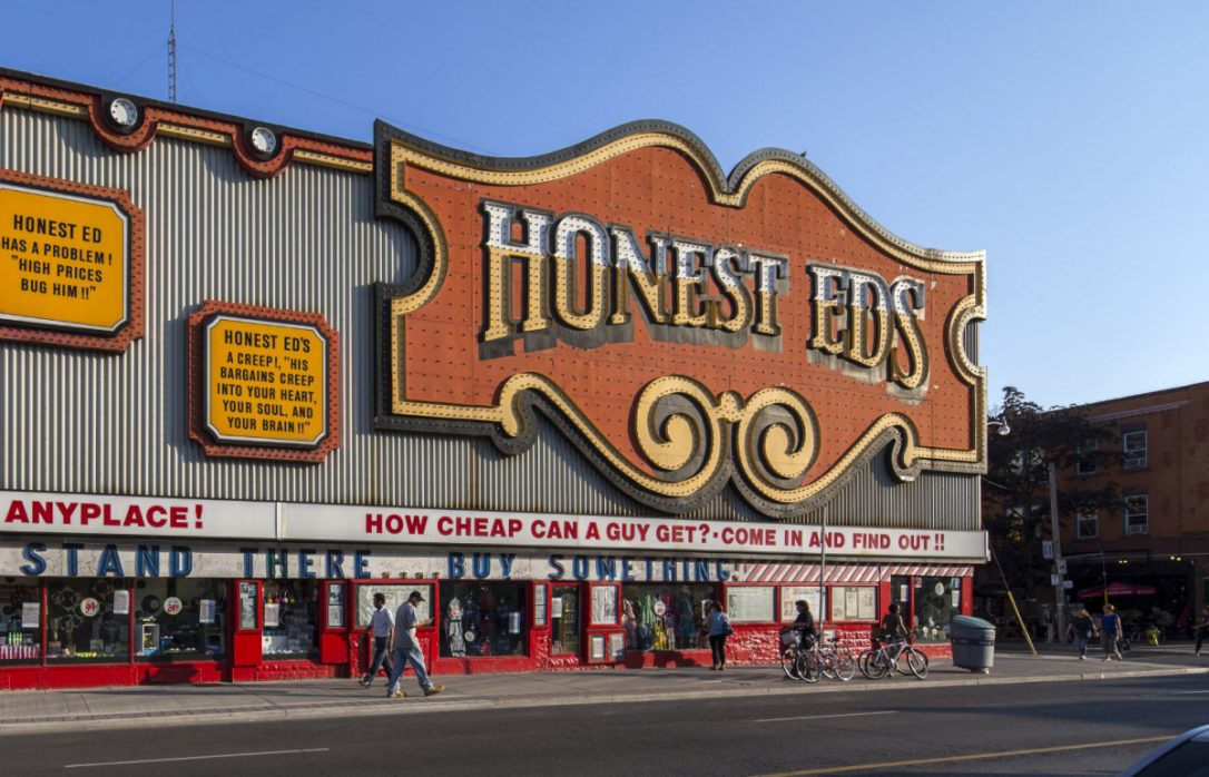 Honest Ed's sign to be removed Tuesday https://t.co/bkFT0880lb https:/...