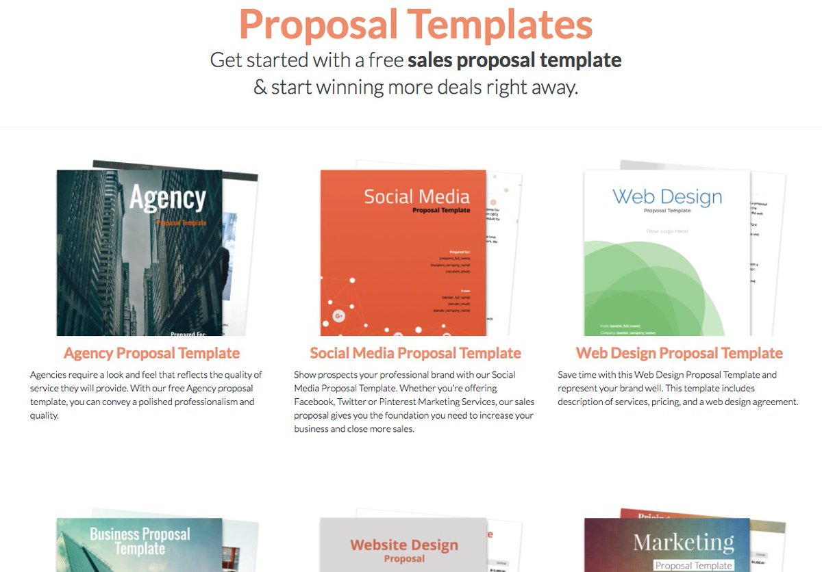 Proposable On Twitter Proposable Releases New Proposal Sample