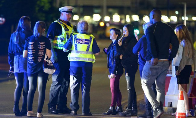 Manchester opened its doors for those affected by the incident at an A...