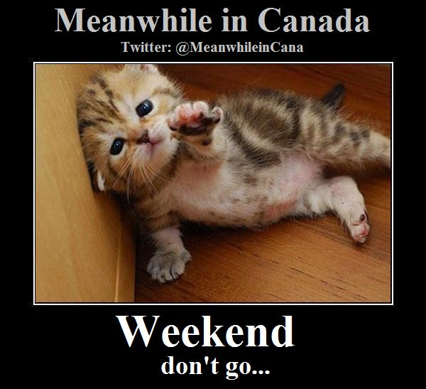 #MeanwhileInCanada #longweekend #Victori...