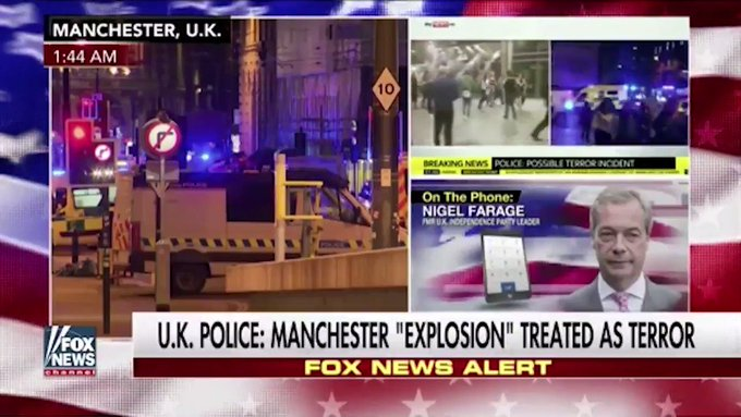 The Manchester terrorist attack was directed at children. It's going to be a very big shock for the UK. https://t.co/KdG0TmGxr4