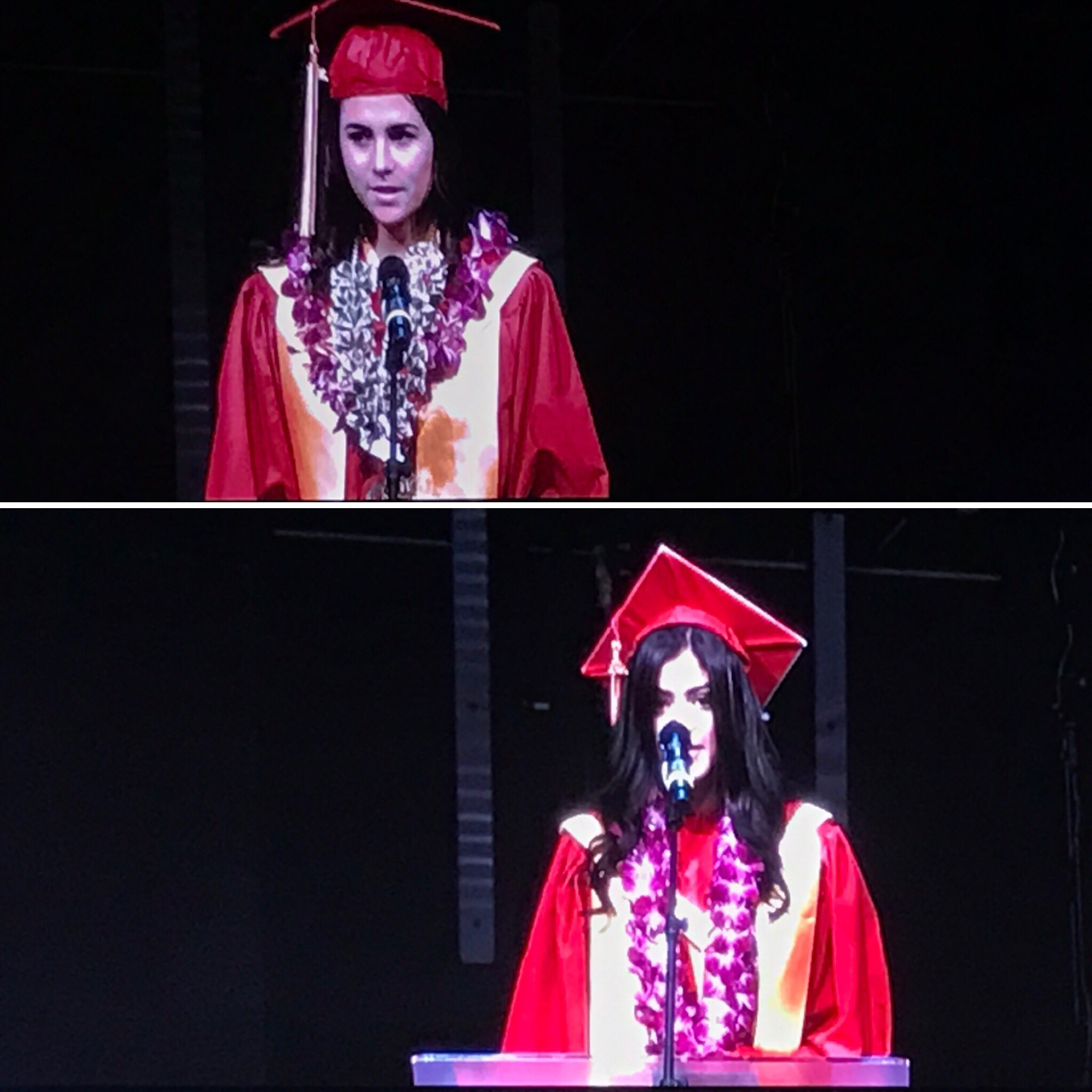 Congratulations to this year's Salutatorians! Great job, Emily and Sonya! #wcheralds  @wchsheralds2017 https://t.co/UaGThxvETb