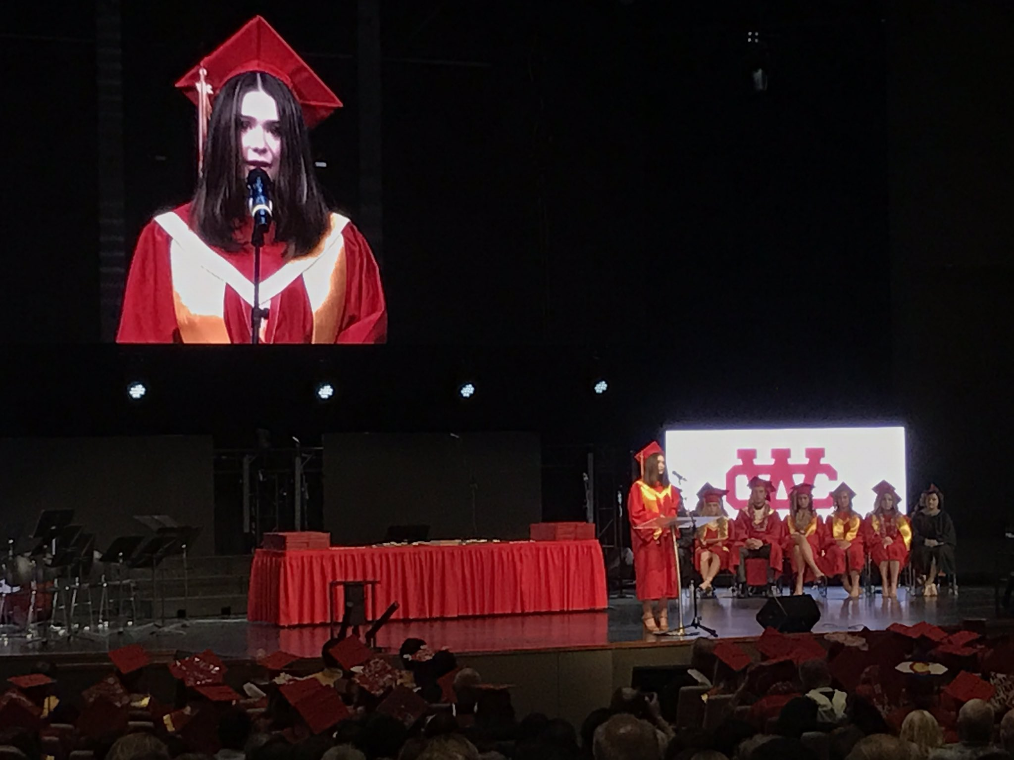WC's Class of 2017 Valedictorian Grace Grannis! #wcheralds #valedictorian @wchsheralds2017 https://t.co/UwVwPKnzHu