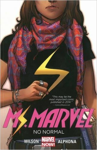 It's official: Next week's Alpha Comic Book Club pick is MS.MARVEL: NO...