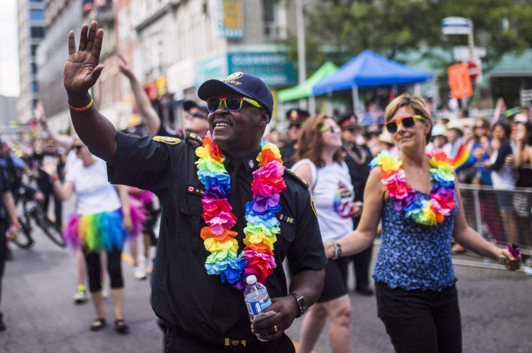 Toronto police invited to march in New York City #Pride parade  https:...