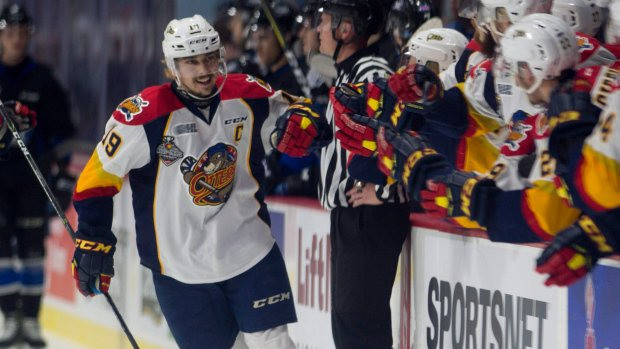 Dylan Strome has record 7-point night as Erie hammers Saint John https...