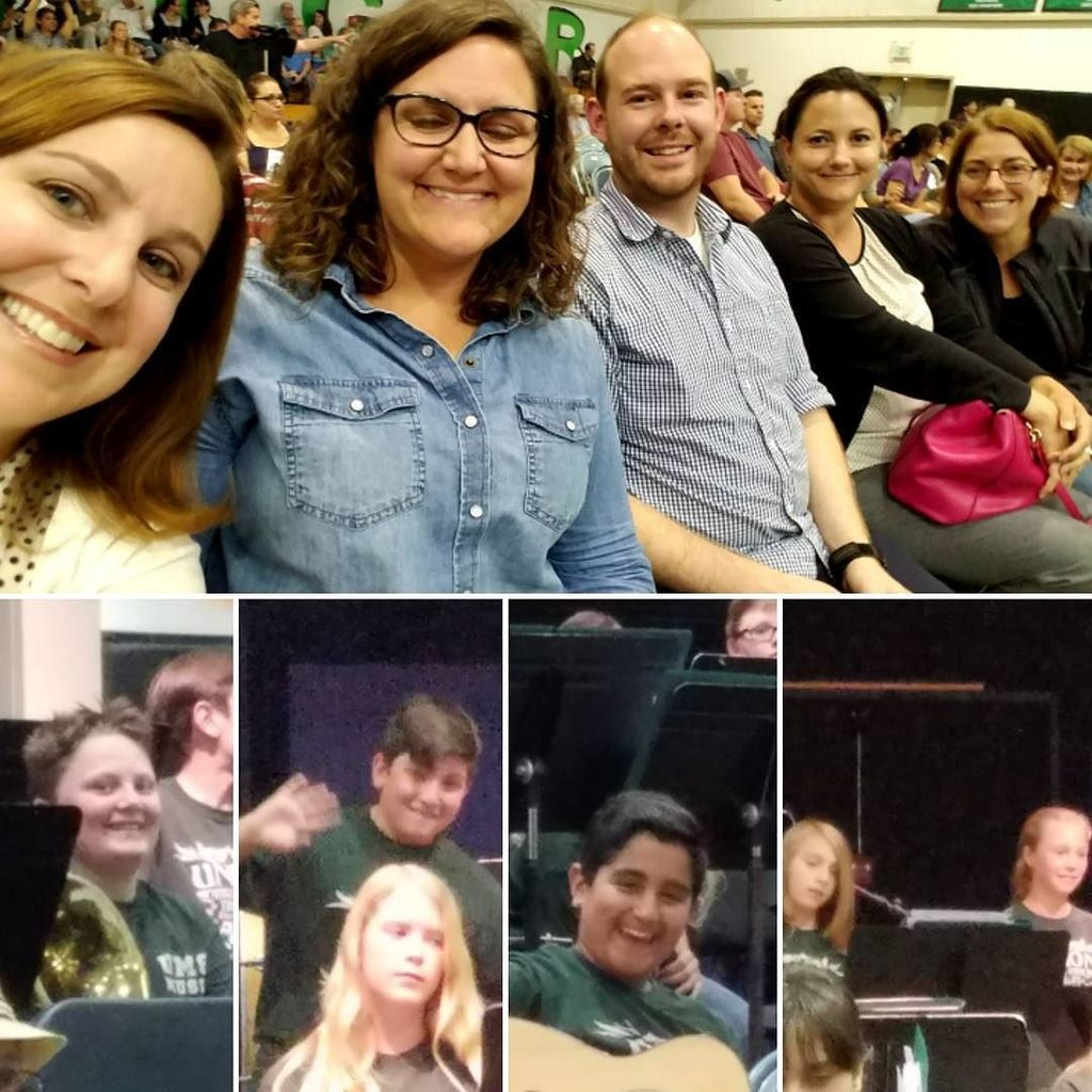 Enjoying the spring concert last week. They sounded great! @chrisk5678 @reynoldsmath #umsfunky43 #teamUMS #usdlearns #latergram <br>http://pic.twitter.com/TjrzViO1mZ