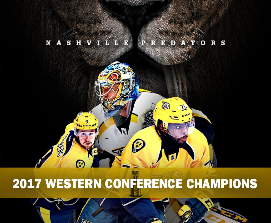Drink it in, #Smashville! The @PredsNHL are heading to the #StanleyCup