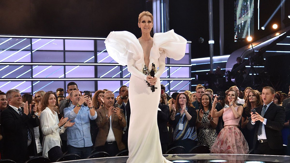 6140e356d7d bbmas celine dion s stylist shares how he came across that epic stephane  rolland gown