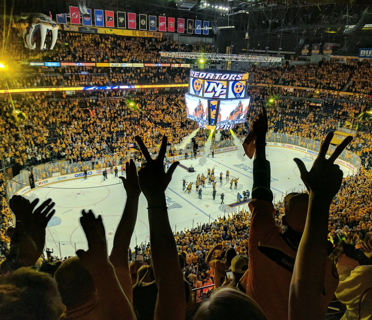 The Nashville Predators are your Western Conference CHAMPIONS!!!