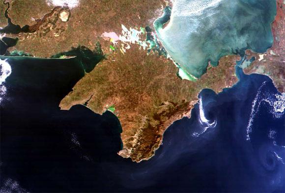 карта волгодонска со спутника