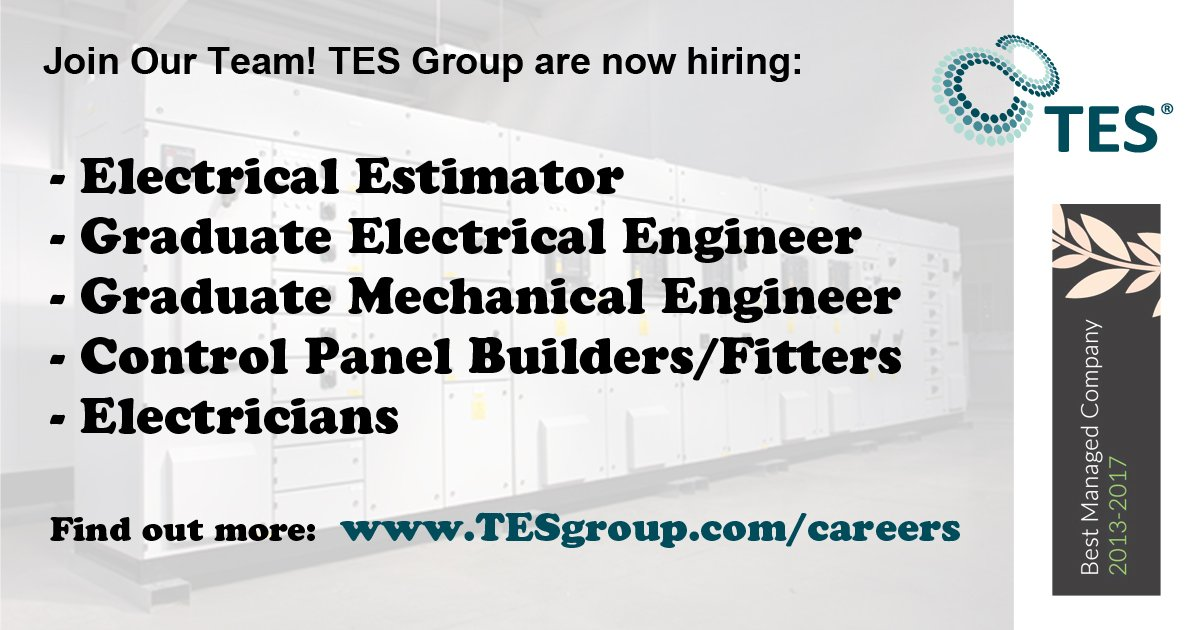 test Twitter Media - ** Company News **  Jobs created at @TESGroupLtd. See website for more:  https://t.co/52vKGxrDPl  #nijobs #expansion #newjob #graduatejobs https://t.co/EYEOtOVBIS