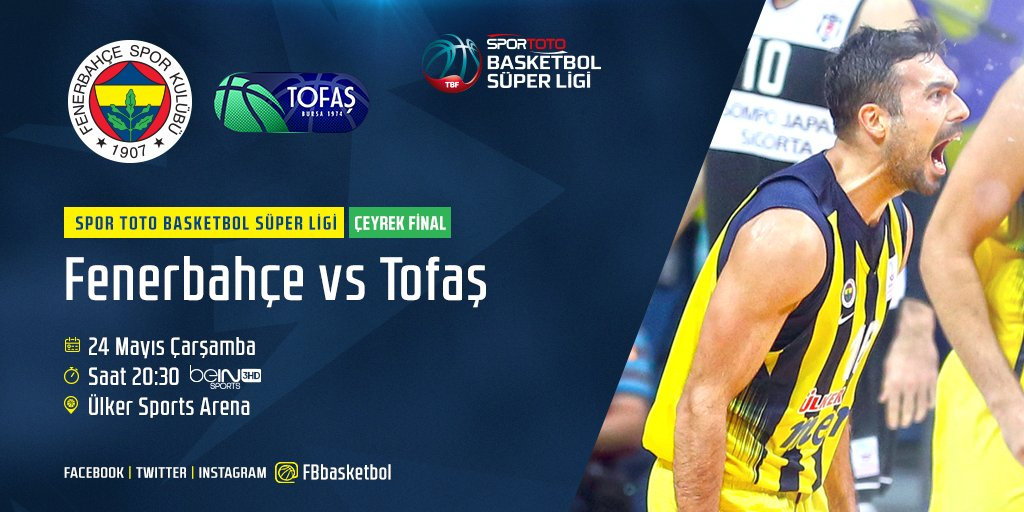 Spor Toto Basketbol Süper Ligi Play-Off'...