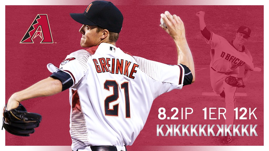 Zack Greinke was masterful tonight. #OurSeason https://t.co/YluPGNEVJU