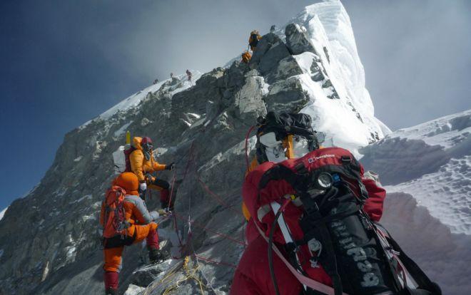 test Twitter Media - Mount Everest's famous Hillary Step destroyed - possibly by Nepal's 2015 #earthquake. Via @BBCScienceNews https://t.co/3VAeIFbXUO https://t.co/bXH2V5JxKV