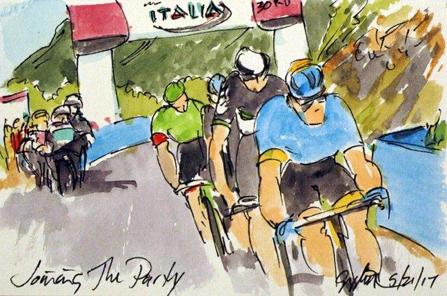 @Ride_Argyle @pierrerolland bridges across on #selvino More #Giro100 #cyclisme #art @  http:// theartofcycling.blogspot.com  &nbsp;   #livre  http:// kck.st/2pd3lfT  &nbsp;  <br>http://pic.twitter.com/cd0ziXLYX2