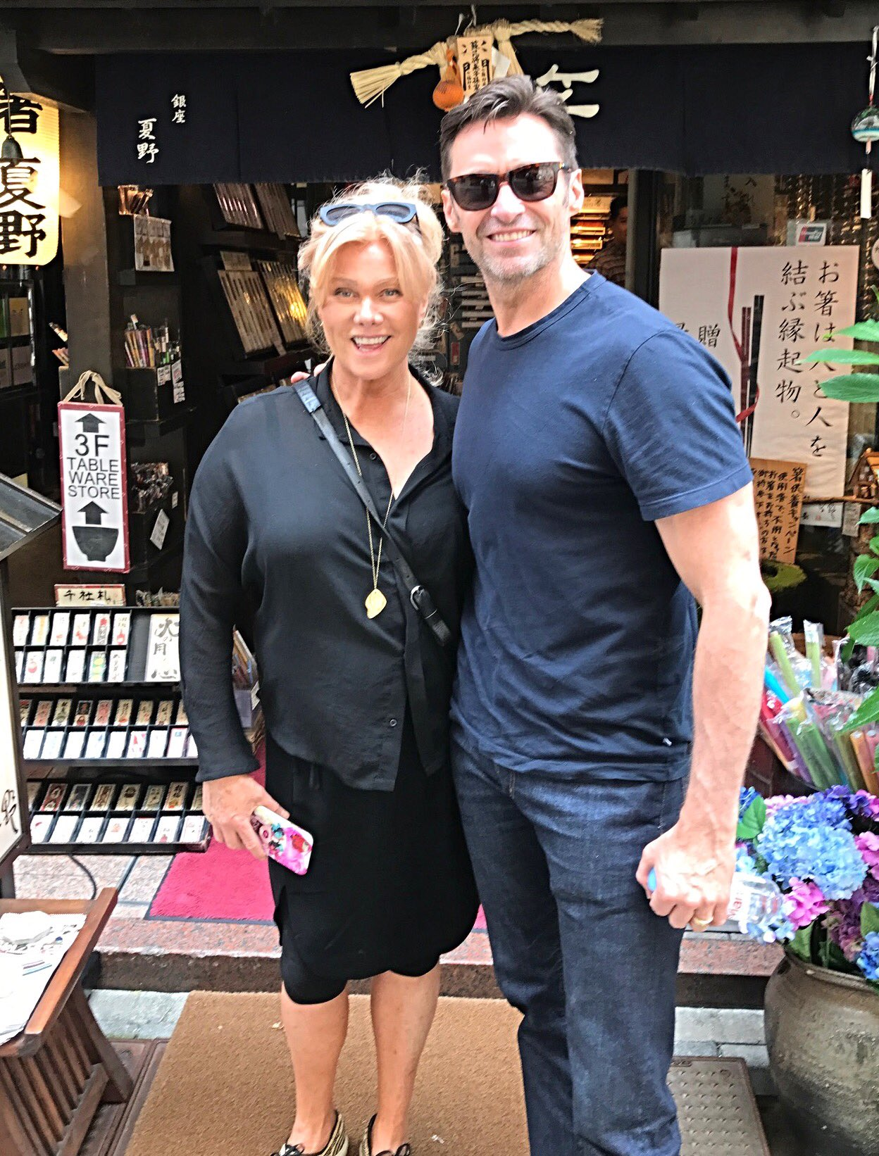 An extraordinary day with the most amazing woman. @Deborra_lee #Tokyo https://t.co/FXTD2uxvsi