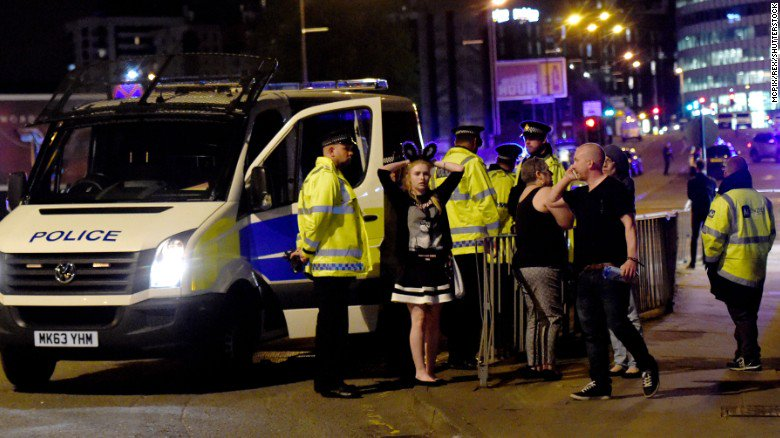 At least 19 people killed and almost 60 injured in an explosion outside the Manchester Arena. What we know so far: https://t.co/P9m44D7Ptv