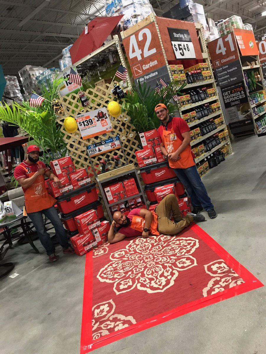 exciting home depot hialeah gardens fl. Take a Walk on  DepotRed Carpet and check out what these Amazing associates put together Oneteam Dealoftheday Team209 Letsdothispic twitter com Red Road Home Depot Twitter