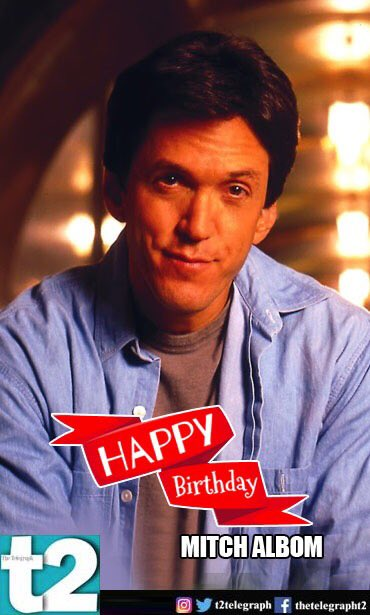 He gave us but we want to meet him on Earth itself! Happy birthday, Albom!