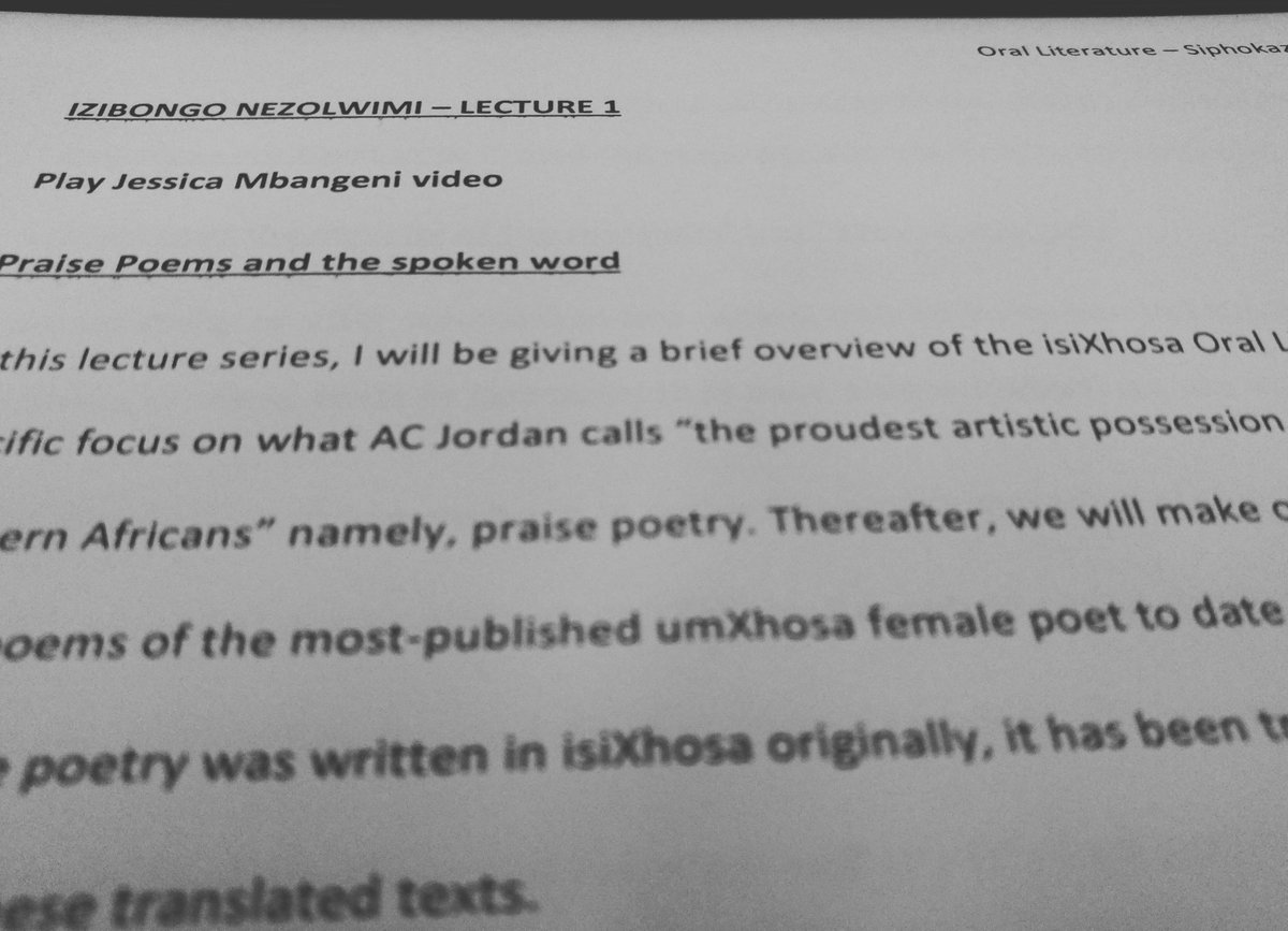 Lecturing mode activated#literature #praisepoetry #academia #blackhistory #purpose<br>http://pic.twitter.com/c3ZKQizm6E