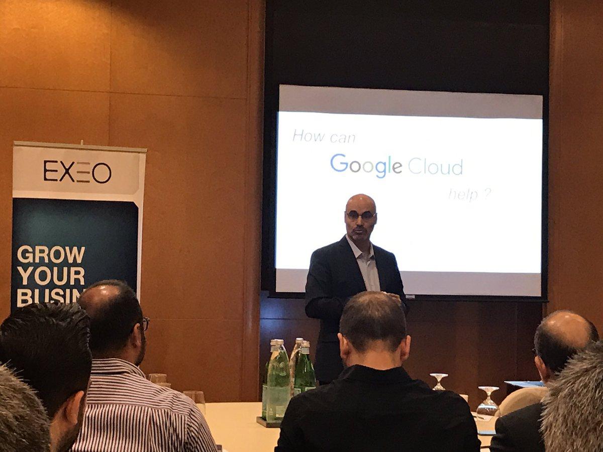 Meet Google Cloud Platform with @ExeoMe https://t.co/5B3LOxiLkE