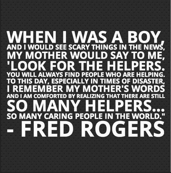 A reminder for those with young children, faced with the awful images from #Manchester. Look for the helpers. https://t.co/eZEwK1A3le