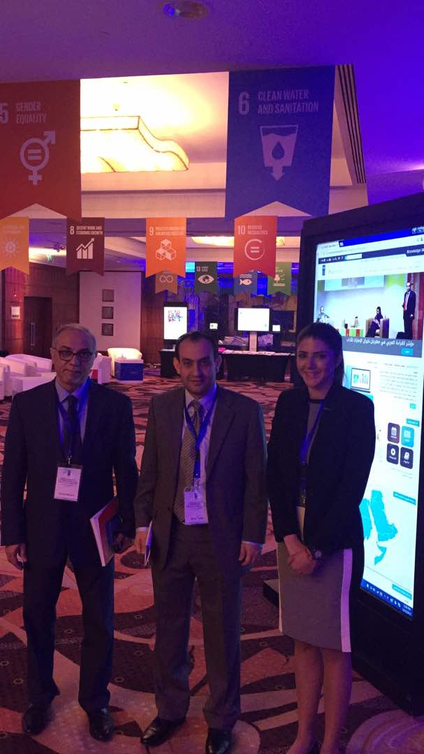 .@UNDPArabStates &amp; @MBRF_News Arab Knowledge Project presenting its #knowledge4all portal and mobile app @UNDP regional conference #ArabDev<br>http://pic.twitter.com/zdwXLsFaDL