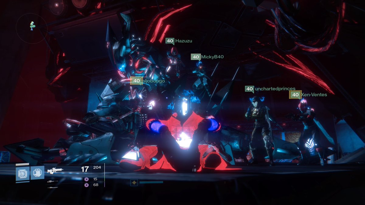 Finishing up with WotM no.75 for SCF last night with 2 running their first ever wrath&#39;s - well played #destiny #destinythegame<br>http://pic.twitter.com/1nogj4BKrf