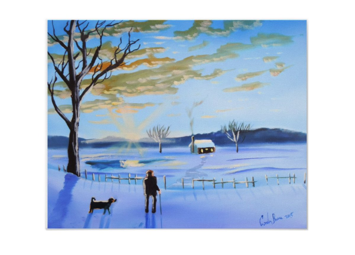 an old man and his dog #winter #painting  http://www. zazzle.com/old_man_and_hi s_dog_winter_snow_painting_poster-228103021045973720?design.areas=%5Bdynamic%5D&amp;rf=238169619599789519 &nbsp; … <br>http://pic.twitter.com/cJEWRuN8PU