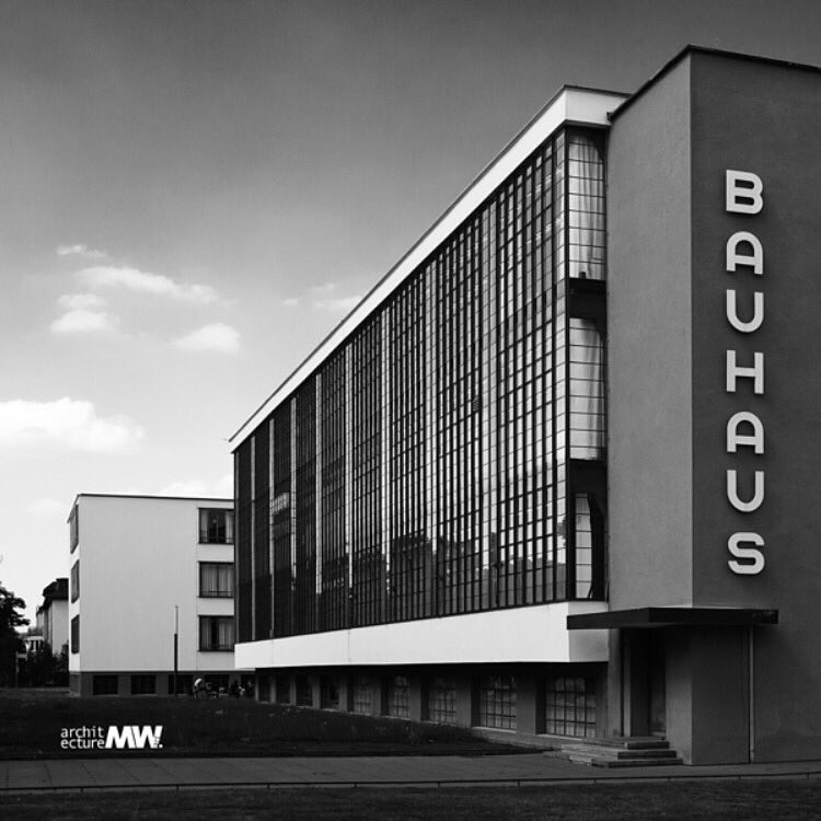 Both an institution and a #design #philosophy, #Bauhaus has been one of the #greatest influences in #modern #design. © MWART<br>http://pic.twitter.com/kLcotawoxm