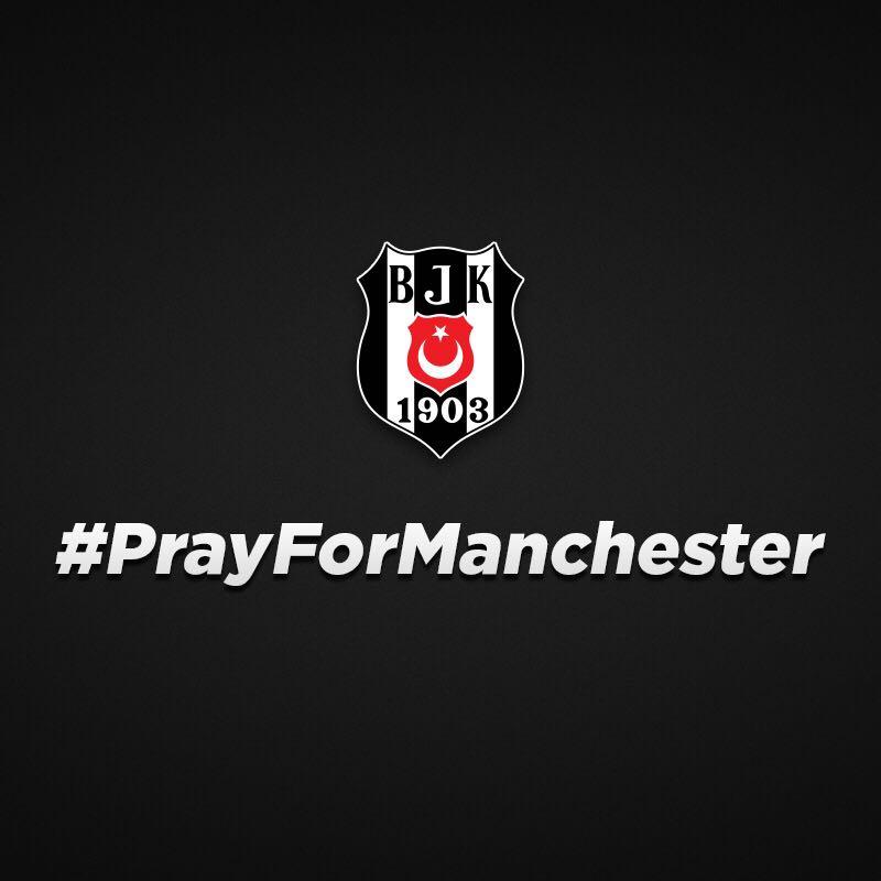 Our prayers and thoughts are with #Manchester  #PrayForManchester @ukambrichard @ManUtd @ManCity  #Beşiktaş  http://www. bjk.com.tr/tr/haber/70111/  &nbsp;  <br>http://pic.twitter.com/P8149n8BdD