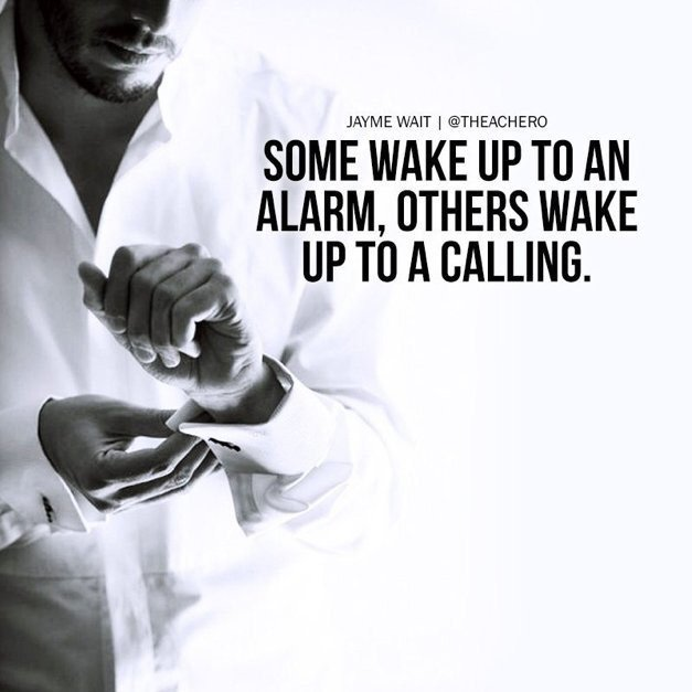 If your alarm&#39;s still waking you up in the morning, you&#39;re not dreaming big enough! #TuesdayThoughts <br>http://pic.twitter.com/Eb6fzr4MOu