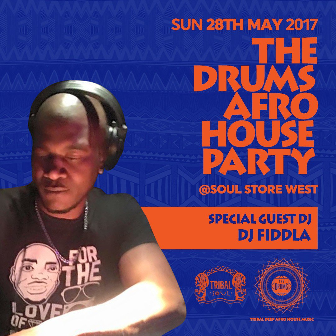 This Sunday it goes off @soulstorewest #AfrohouseParty 12pm-12am #theDRUMS #DayPartySpecial  #Afro #Soulful #Deep #Ritual #housemusic<br>http://pic.twitter.com/Q7X5eXkB4m
