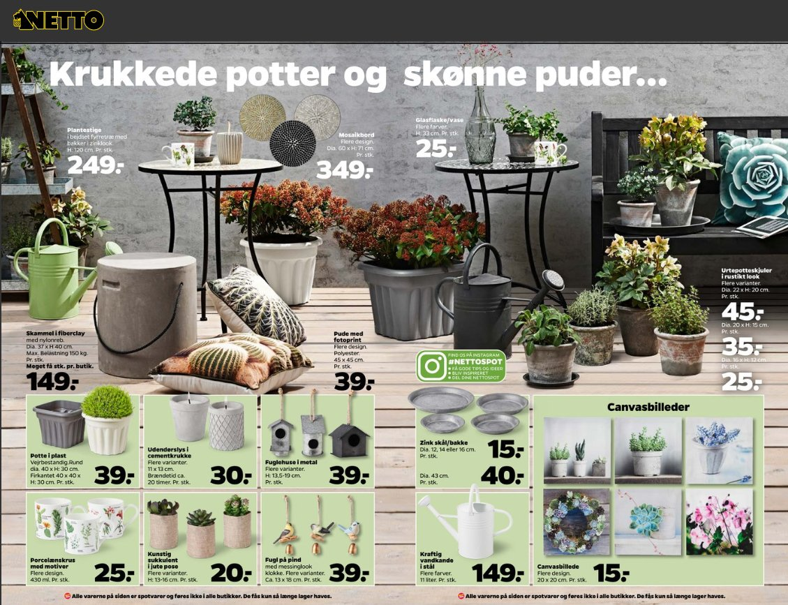 #Wham® #Vista #planters feature in the latest offers at #Netto #Denmark. We #manufacture a wide range of #garden products. @MadeinBritainGB<br>http://pic.twitter.com/JGFTjWSJfg