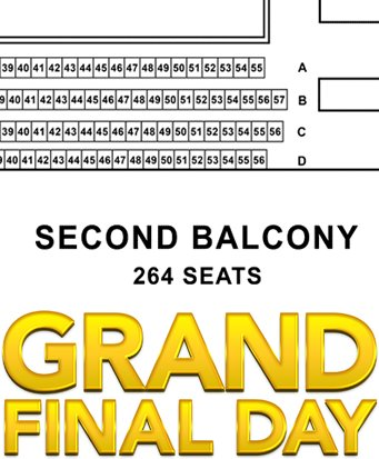 The #Second Balcony and #Grand Finals <br>http://pic.twitter.com/SIyxhCtAuK