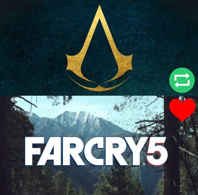 ¿Qué juego de #Ubisoft esperas con más ganas?  RT ➡️ #AssassinsCreed...