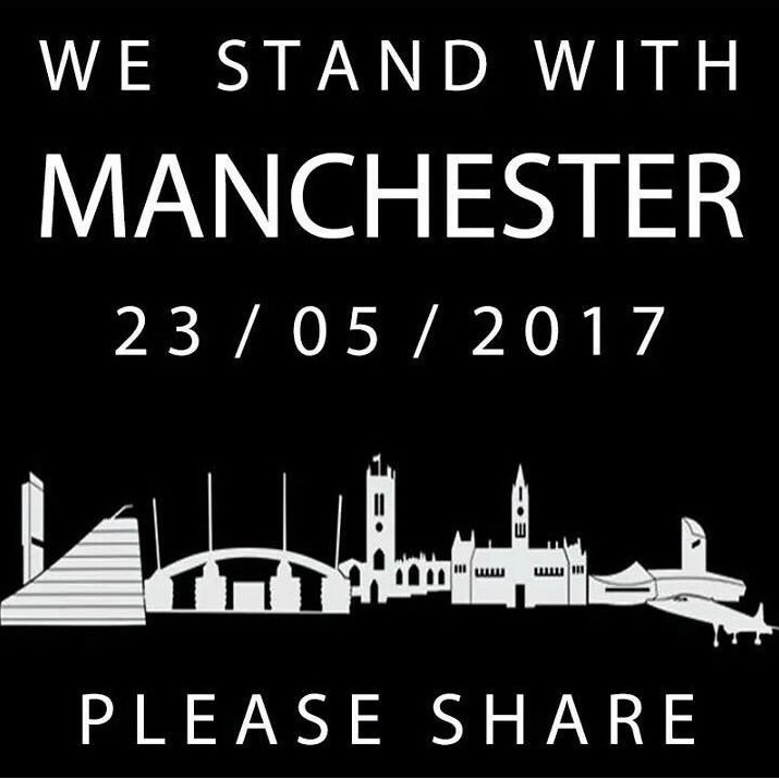 We're sending all of our love & support to those affected by the tragic events of last night #WeStandTogether https://t.co/JXv2NChfWt